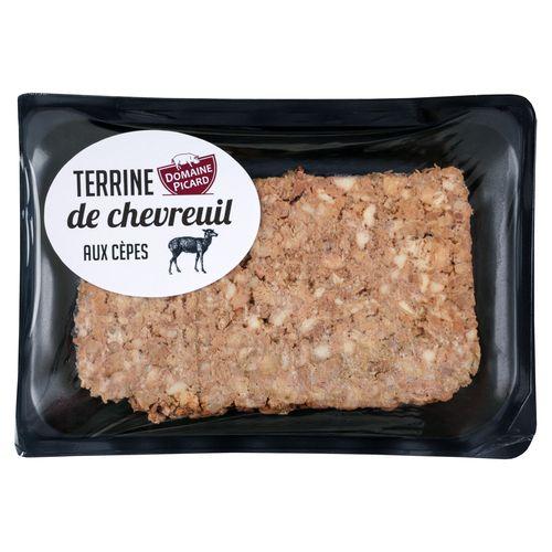 barquette pâté de chevreuil