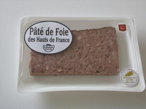 Barquette pâté de foie